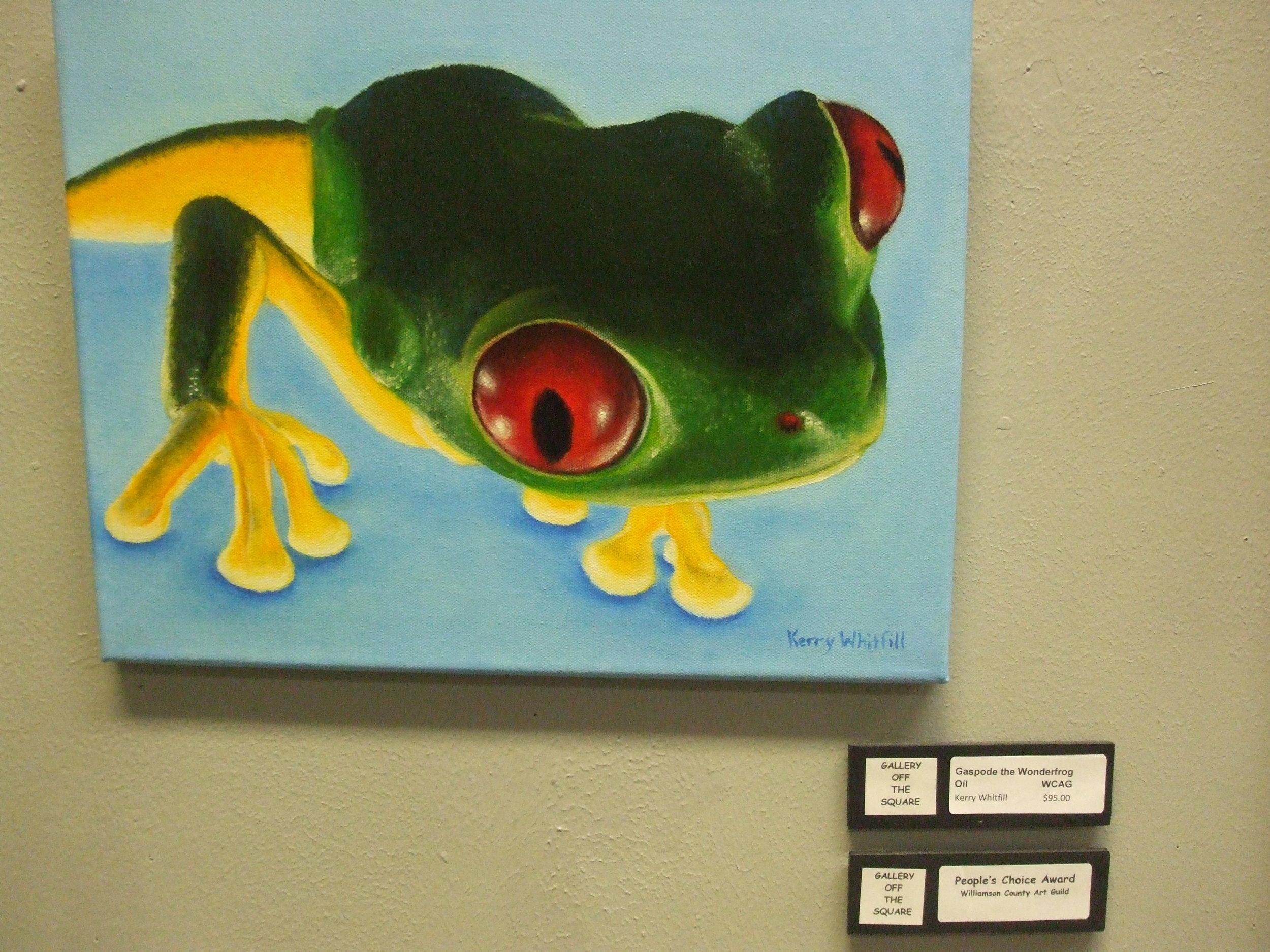 Gasped the Wonderfrog