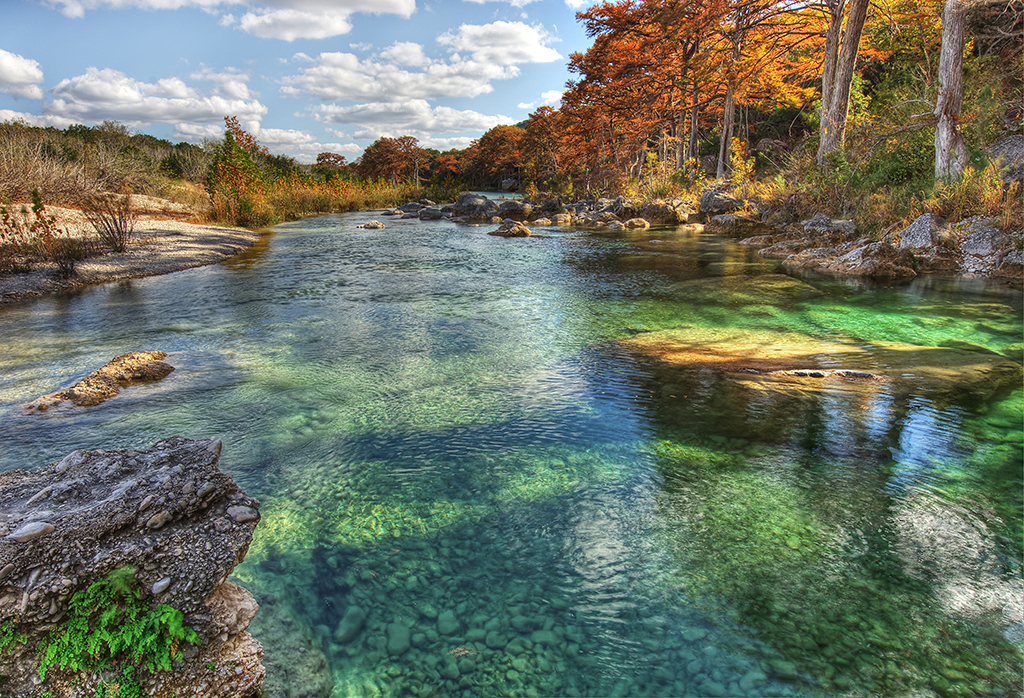 Frio River Emerald Pools