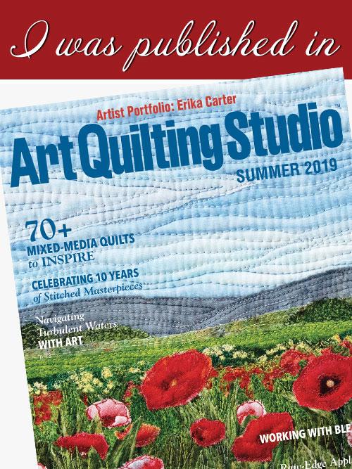 featured in Art Quilting Studio