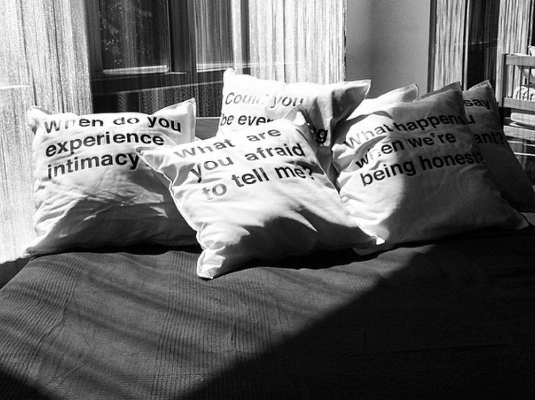 Pillow Talk at the Portland Art Museum