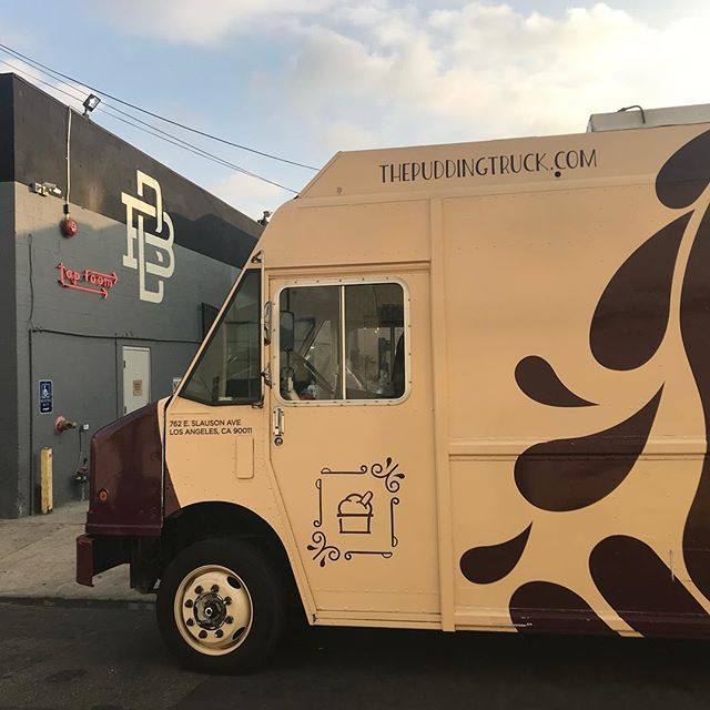 If you haven't heard we'll be winding down operations for The Pudding Truck so join us for Going Out With a Boom(town) this Saturday 09/08.  We'll be giving away free pudding starting at 7pm!