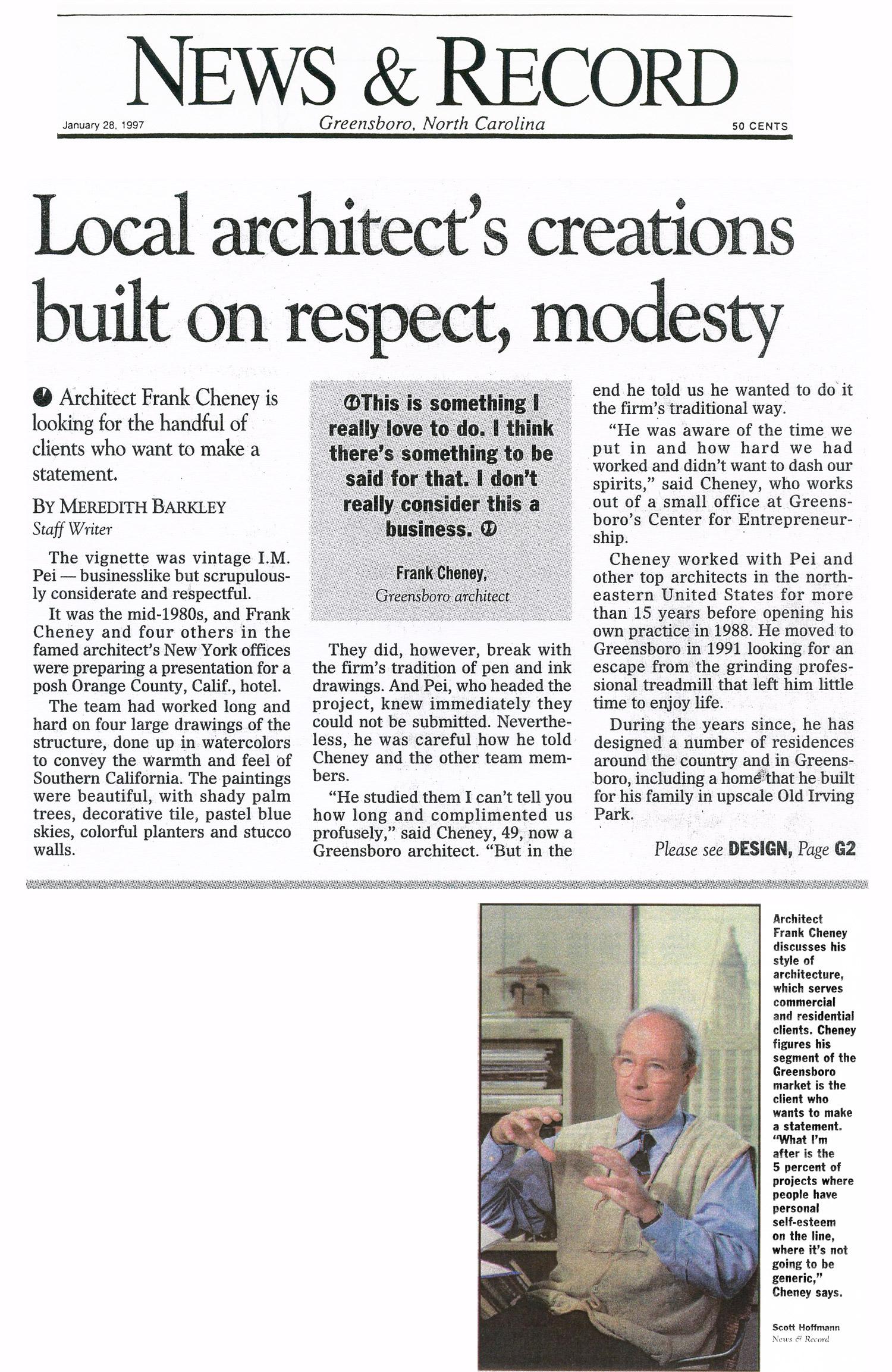 frank-cheney-architect-greensboro-news-and-record-clip.jpg
