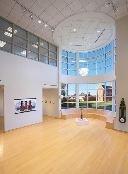 Canterbury School Art Building Interior