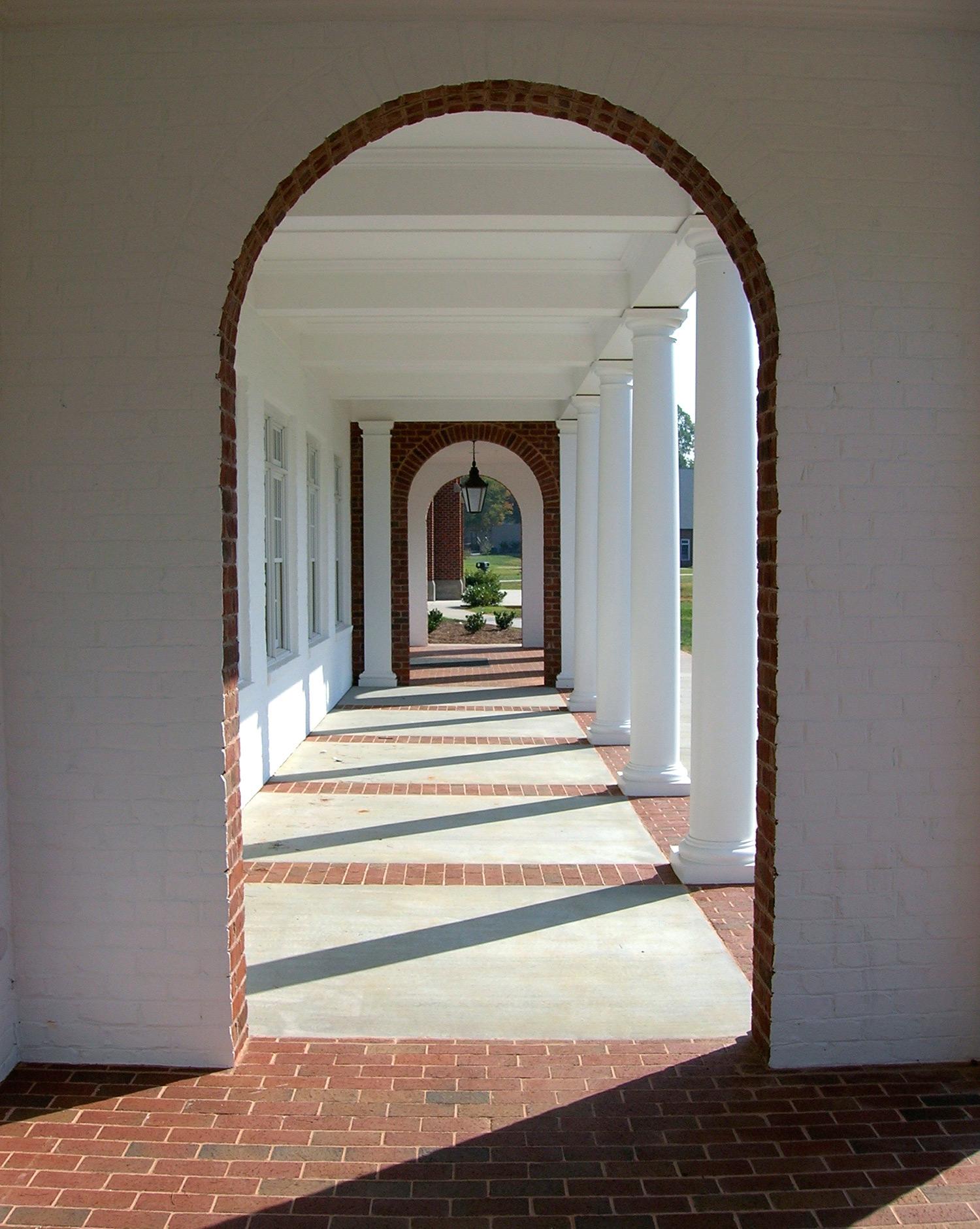 Canterbury School, Berry Hall Porch
