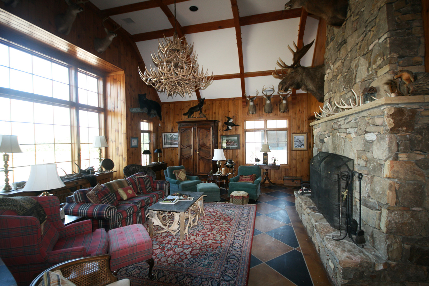 The Lodge at Willow Oaks, Common Room