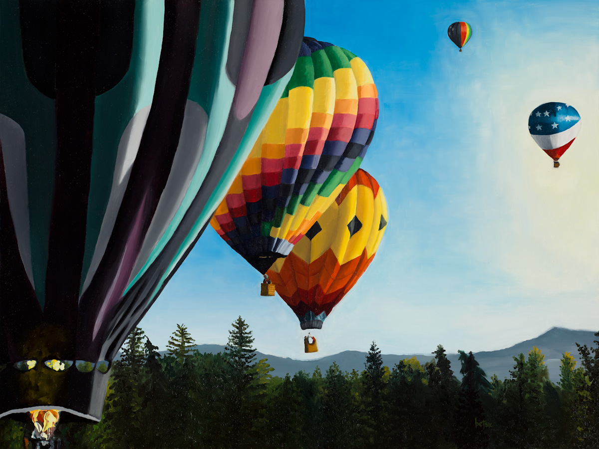 Lift Off at Spirit of Boise Balloon Classic