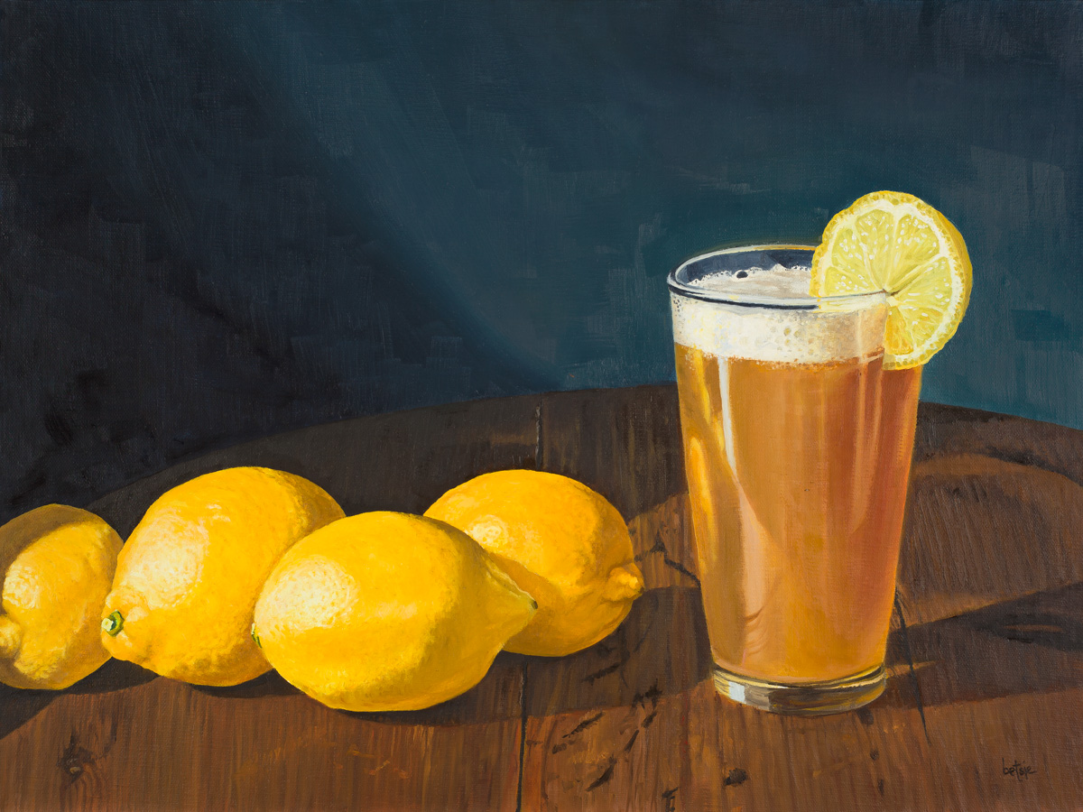 When life gives you lemons, say fuck the lemons and have a beer!