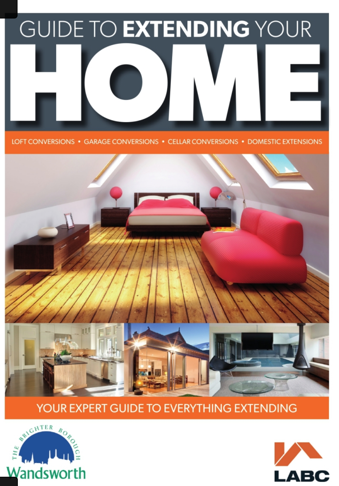 Mongan Contractors were featured in the Wandsworth Guide to Extending Your Home. - Click the image to see the full magazine.
