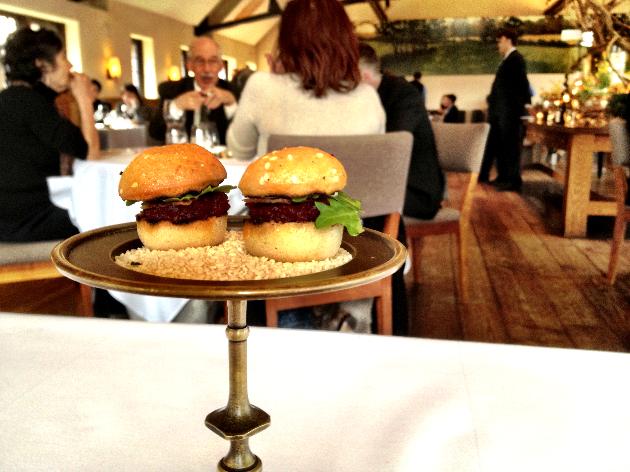 Beet Burger. Yes, please.