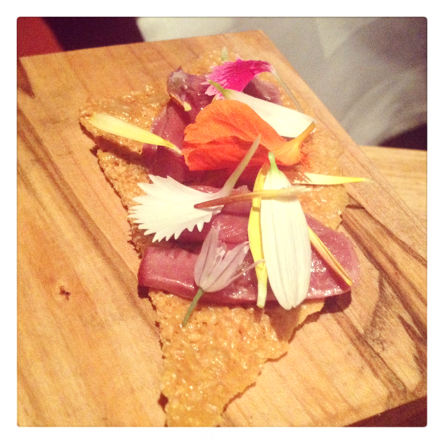 Pastrami, duck hearts, duck crepe. Unbelievable.