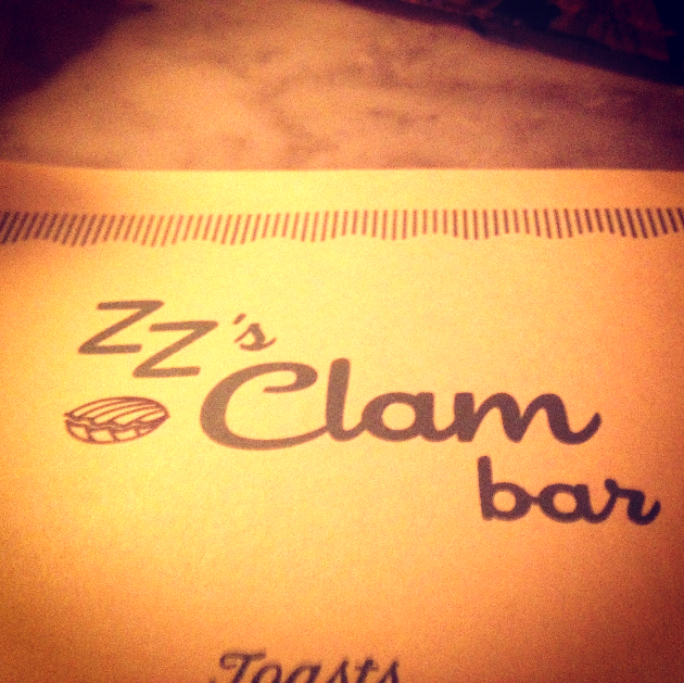 SEAT FOR ONE: ZZ'S CLAM BAR — NYC Foodie