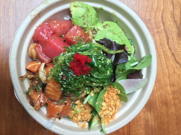 A Perfect Bowl of Poke from Sons of Thunder