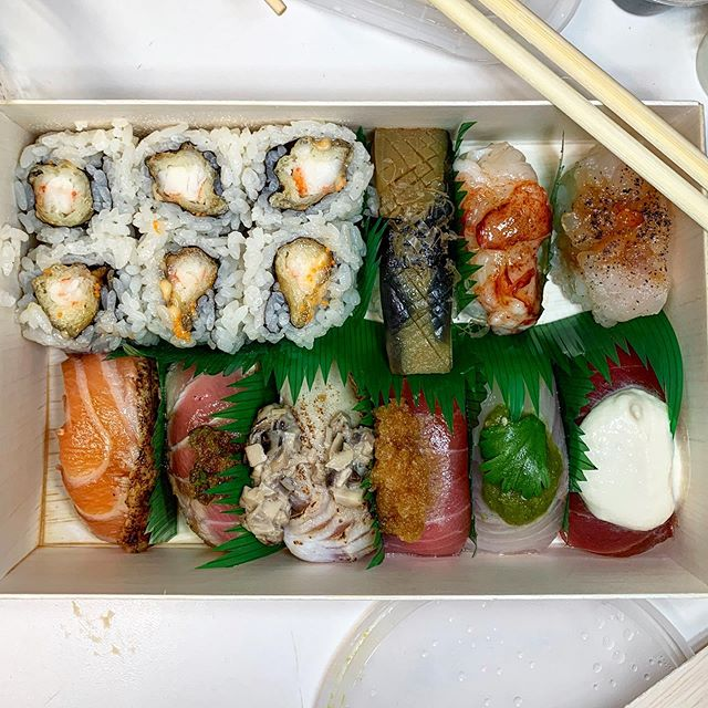 Wow! #SushiOfGari take-out is Fantastic! #sushiaddict #foodiemagician #stilleating