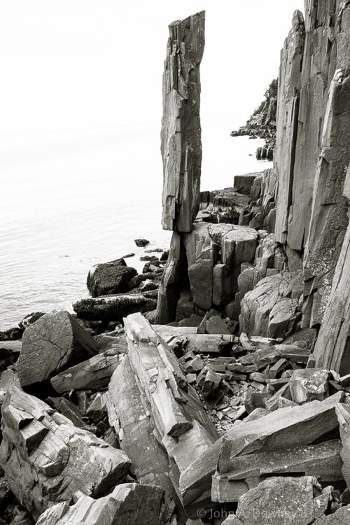 Balancing Rock. Tiverton, Nova Scotia. 2009