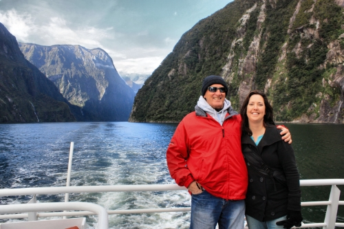 This colorful character from Australia struck up a conversation with me on a boat tour of Milford Sound in New Zealand.