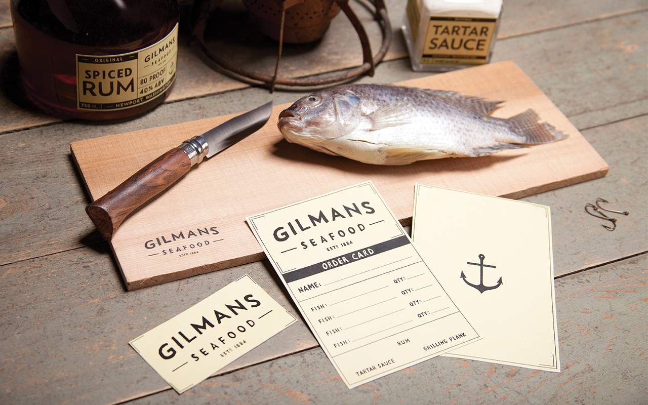 GILMANS SEAFOOD PACKAGING