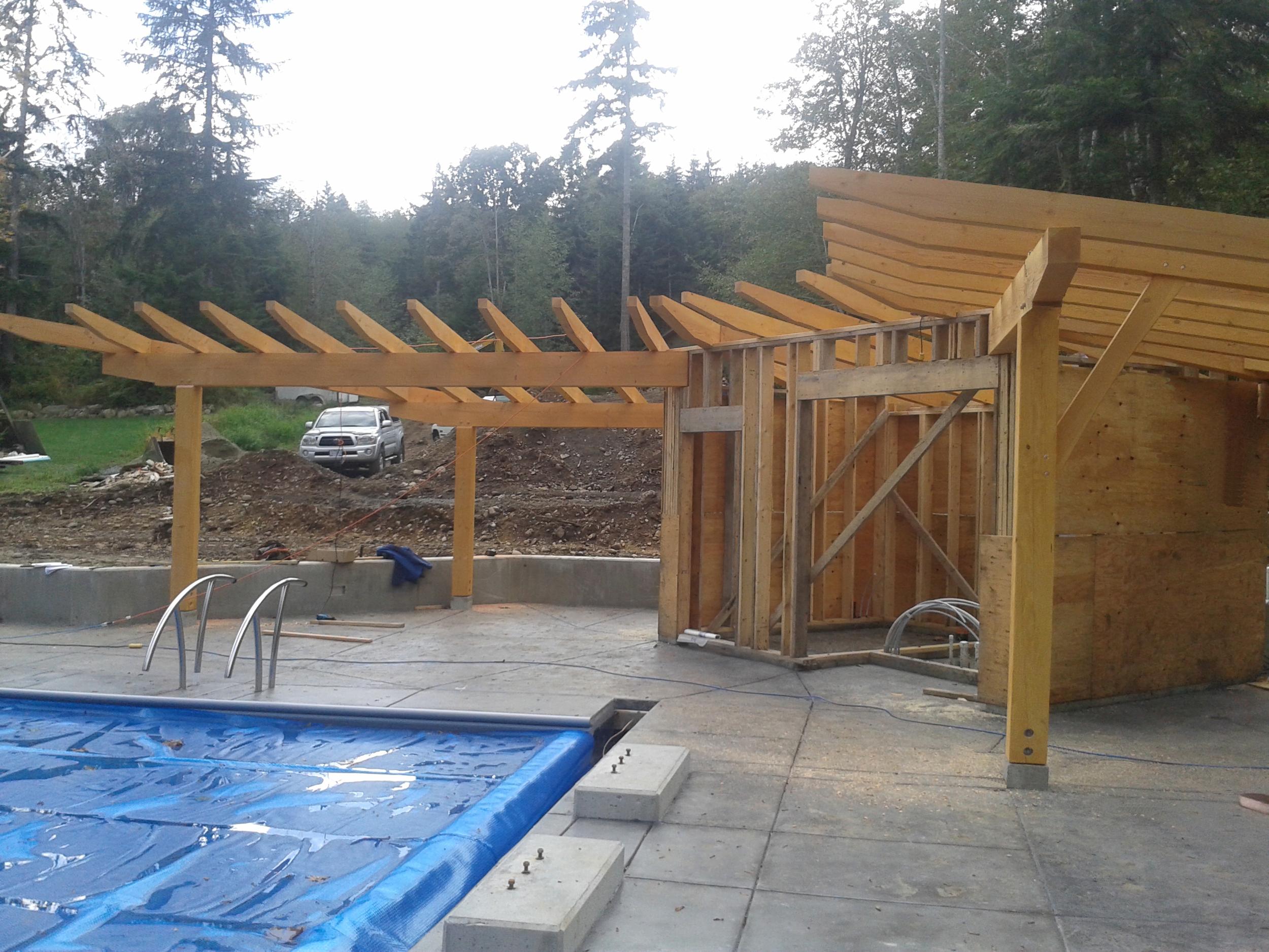 Timberframe Poolhouse