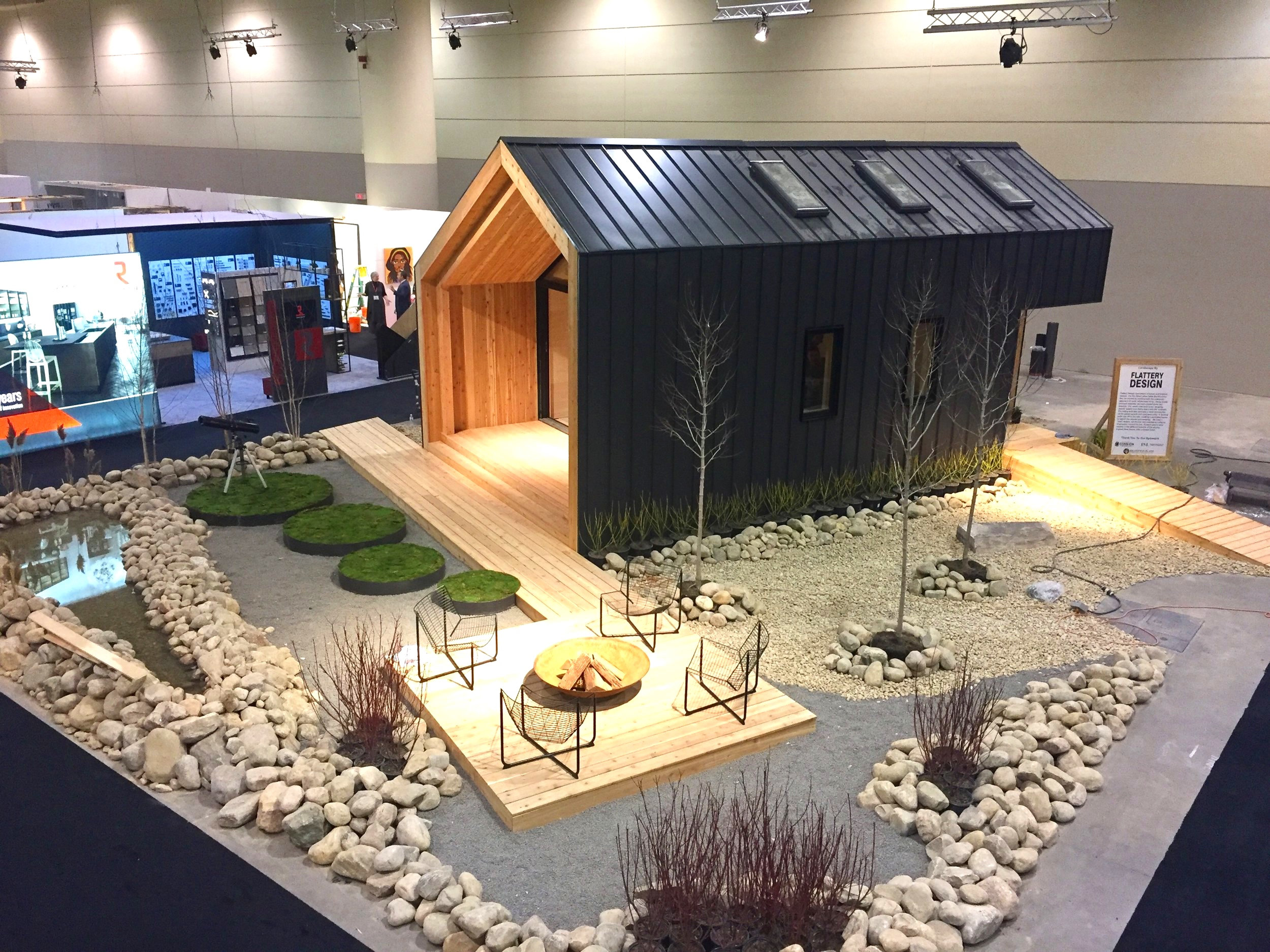 Aerial Shot BHC Great Lakes Cabin at IDS Toronto 2019