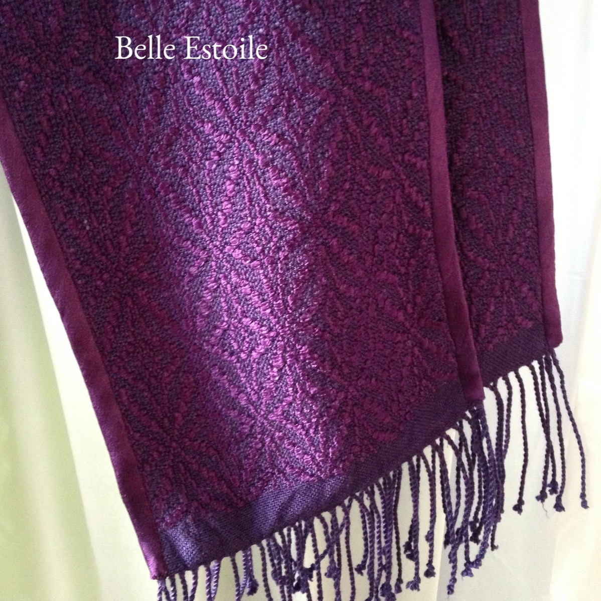 Star of Bethlehem Stole - Purple
