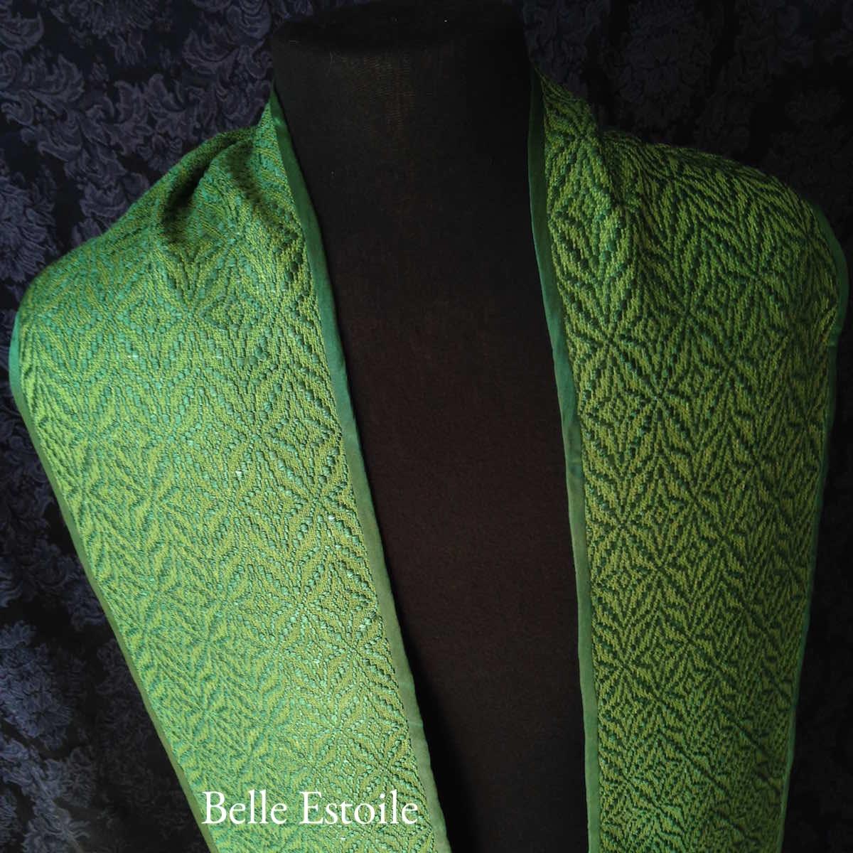 Star of Bethlehem Stole - Green