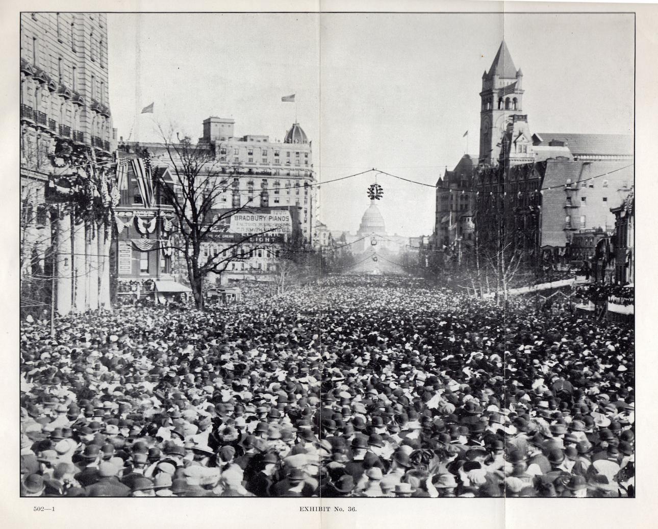Woman Suffrage Procession, March 3, 1913