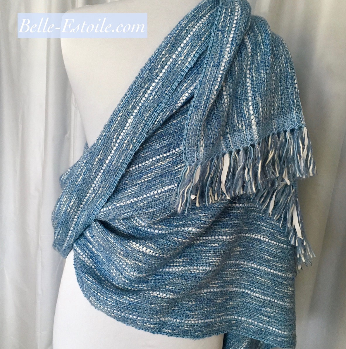 My Blue Denim Shawl