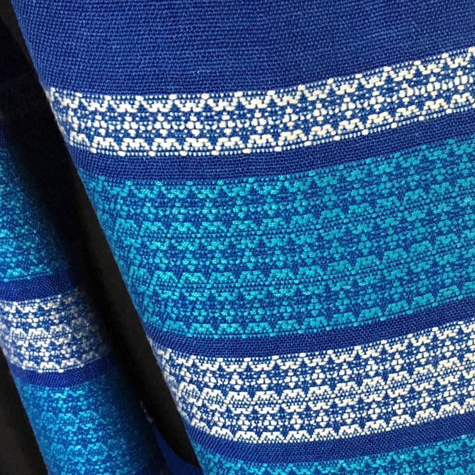 Handwoven Tallit - Star of David Pattern