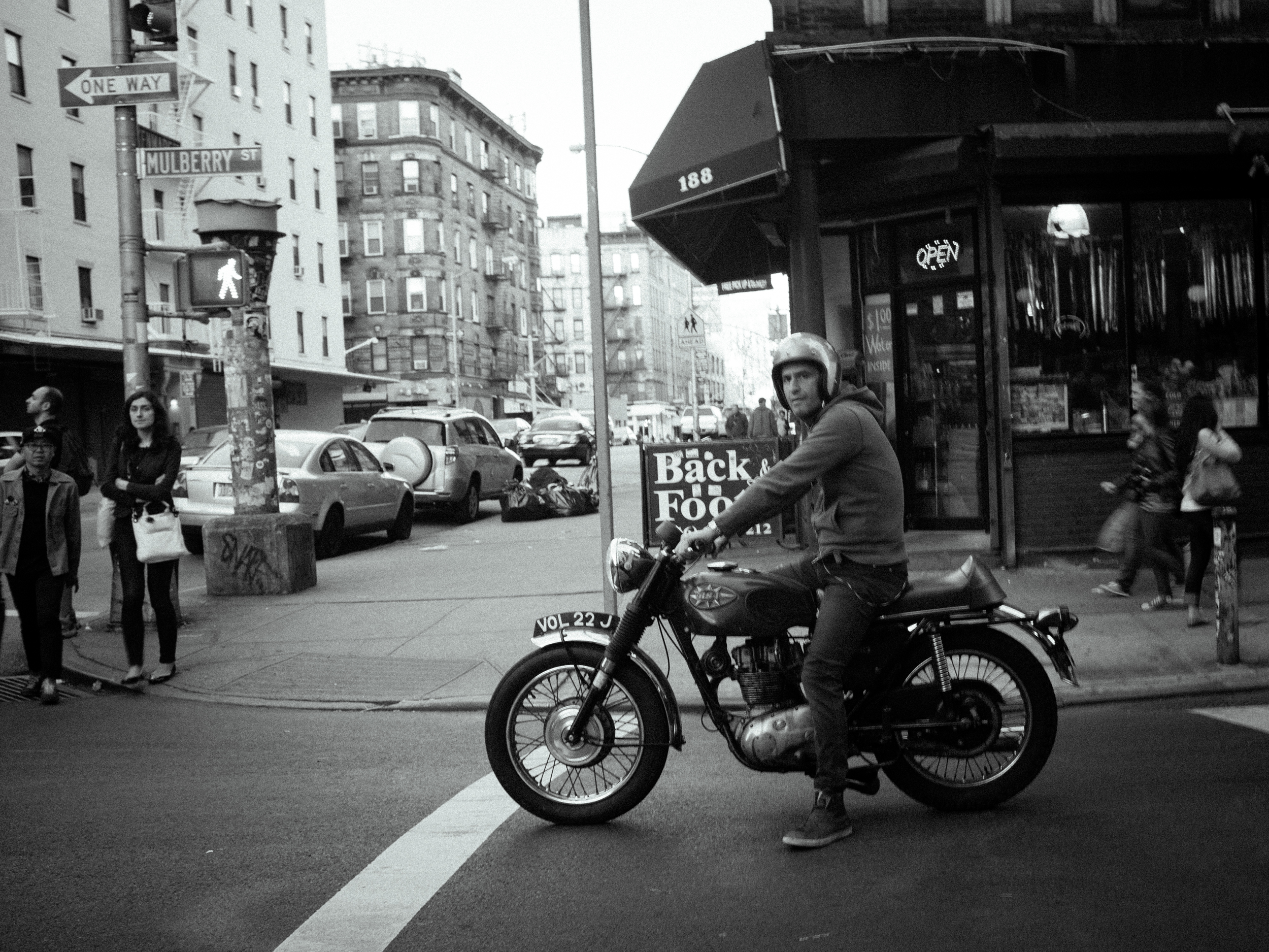 70's BSA in SOHO