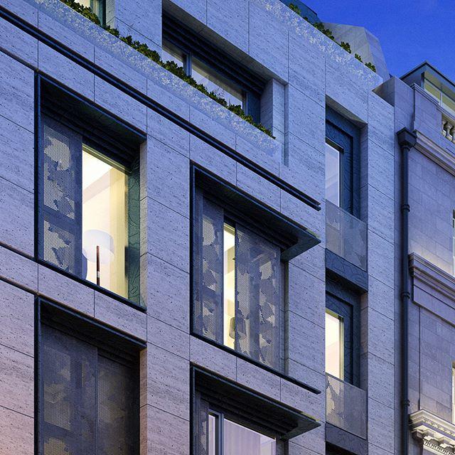 Stanhope Gate #visualisation #cgi #archviz #artray #architecture #london #3d