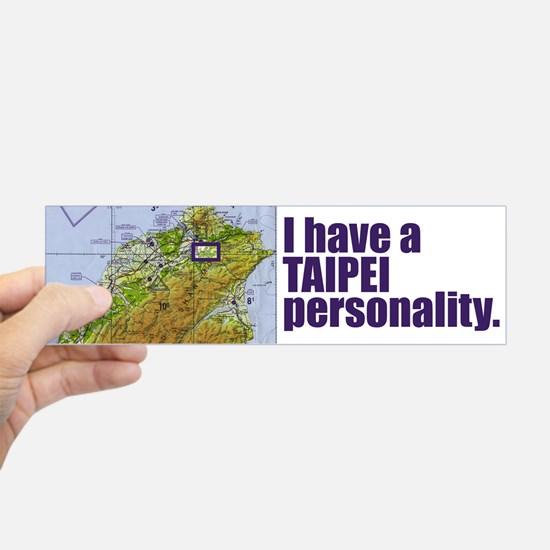 taipei_personality_bumper_bumper_bumper_sticker.jpg