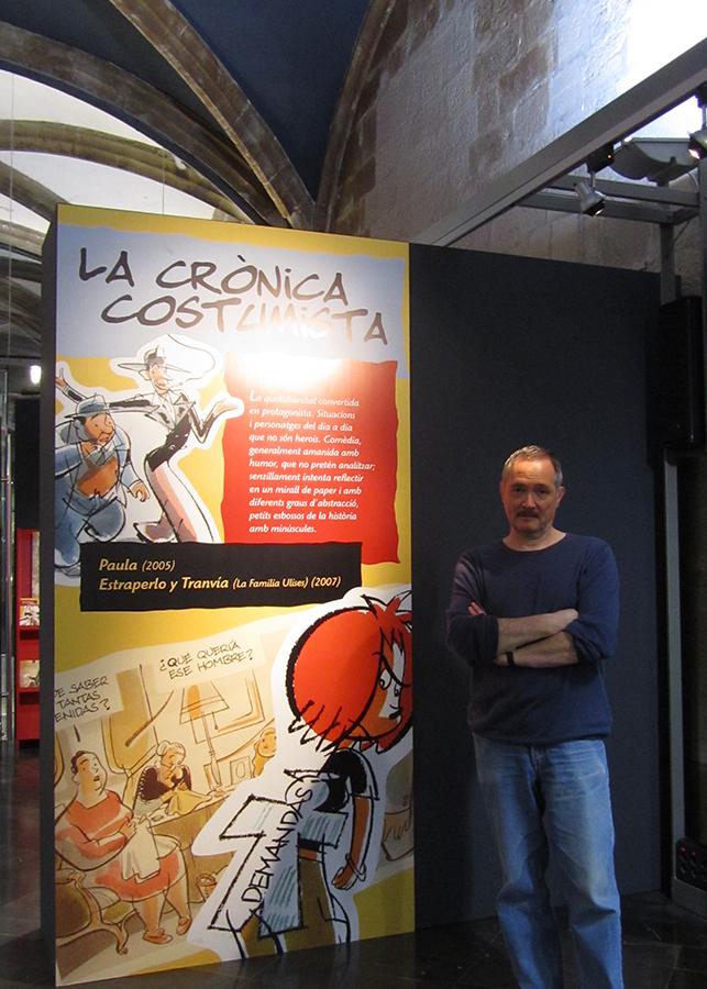 Exposición Alfonso López 2002-2012 en el Institut d'Estudis Ilerdencs