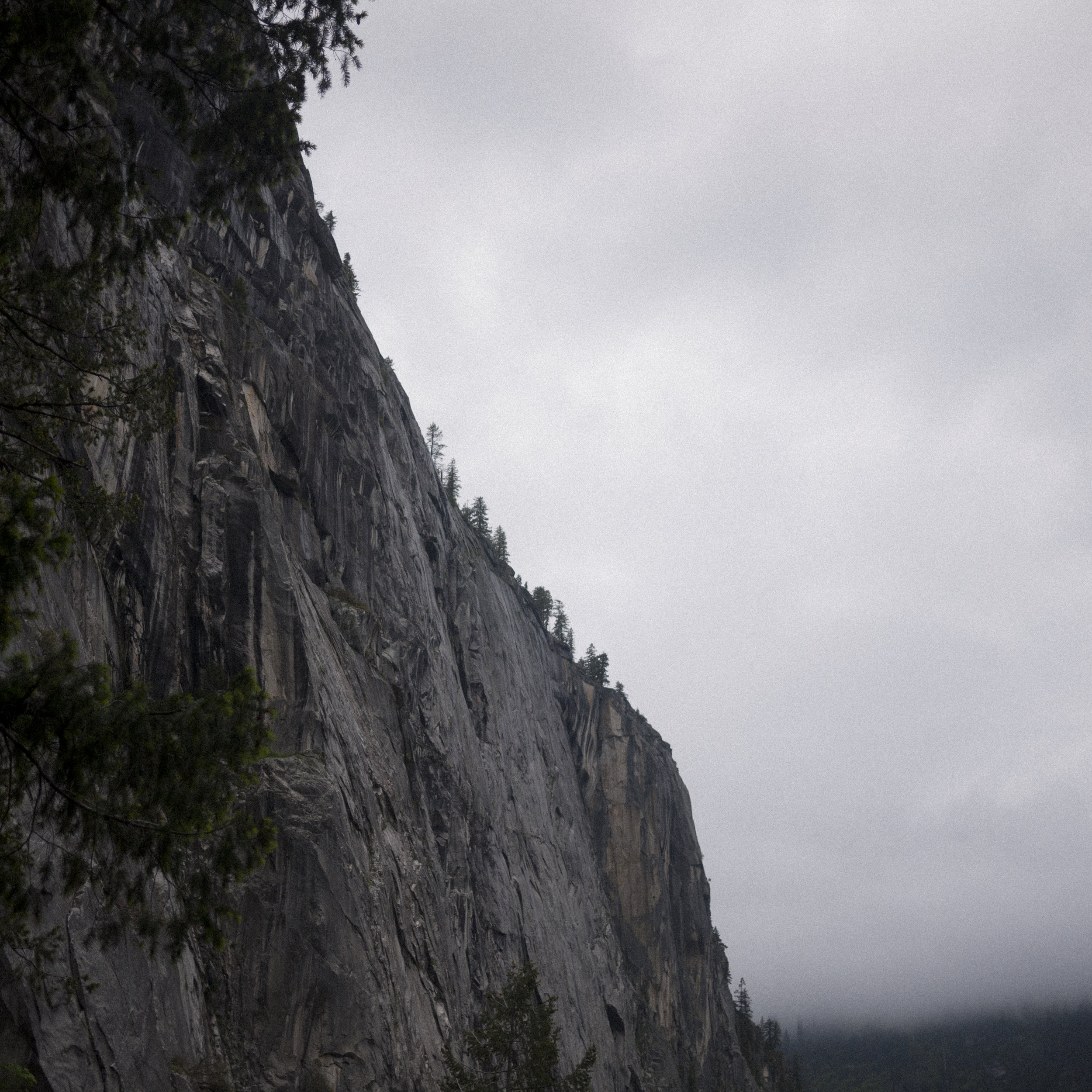 Yosemite shifts between open and inviting to dark and menacing in seconds