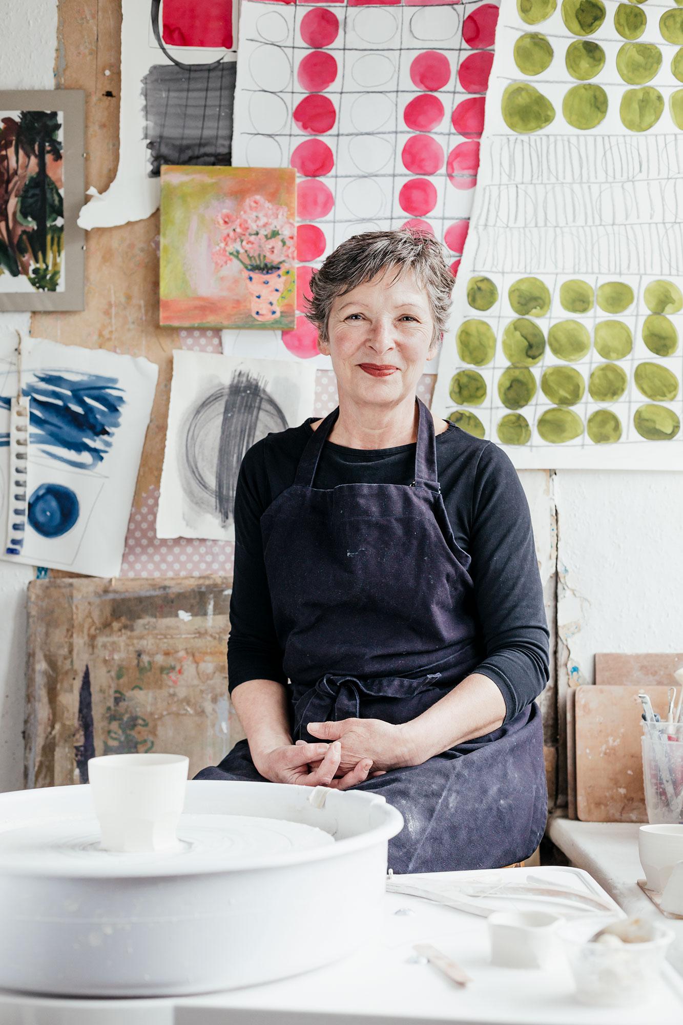Wendy Wilbraham, ceramicist