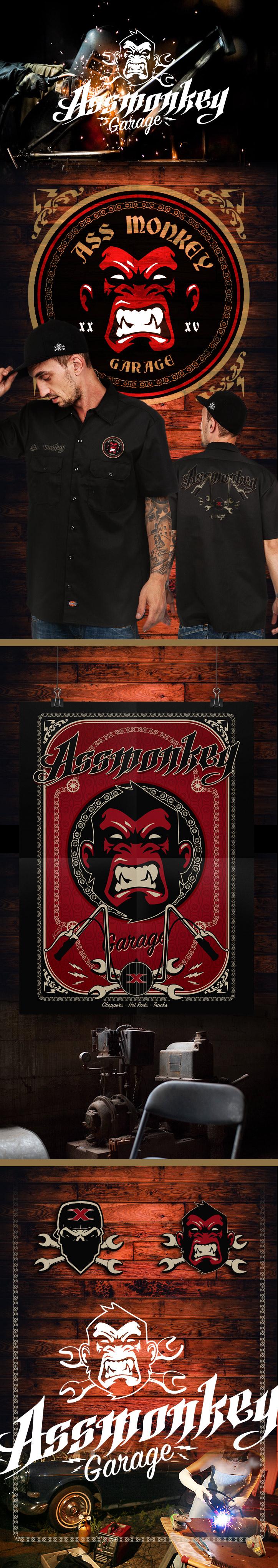 Assmonkey Garage