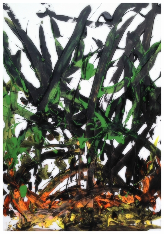 """The Grass is Fire"", 2014"
