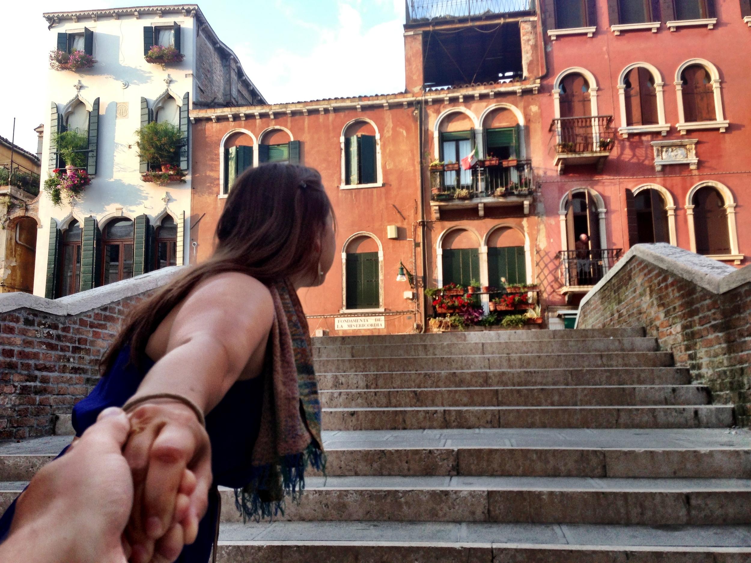 1 of 400 bridges in Venice