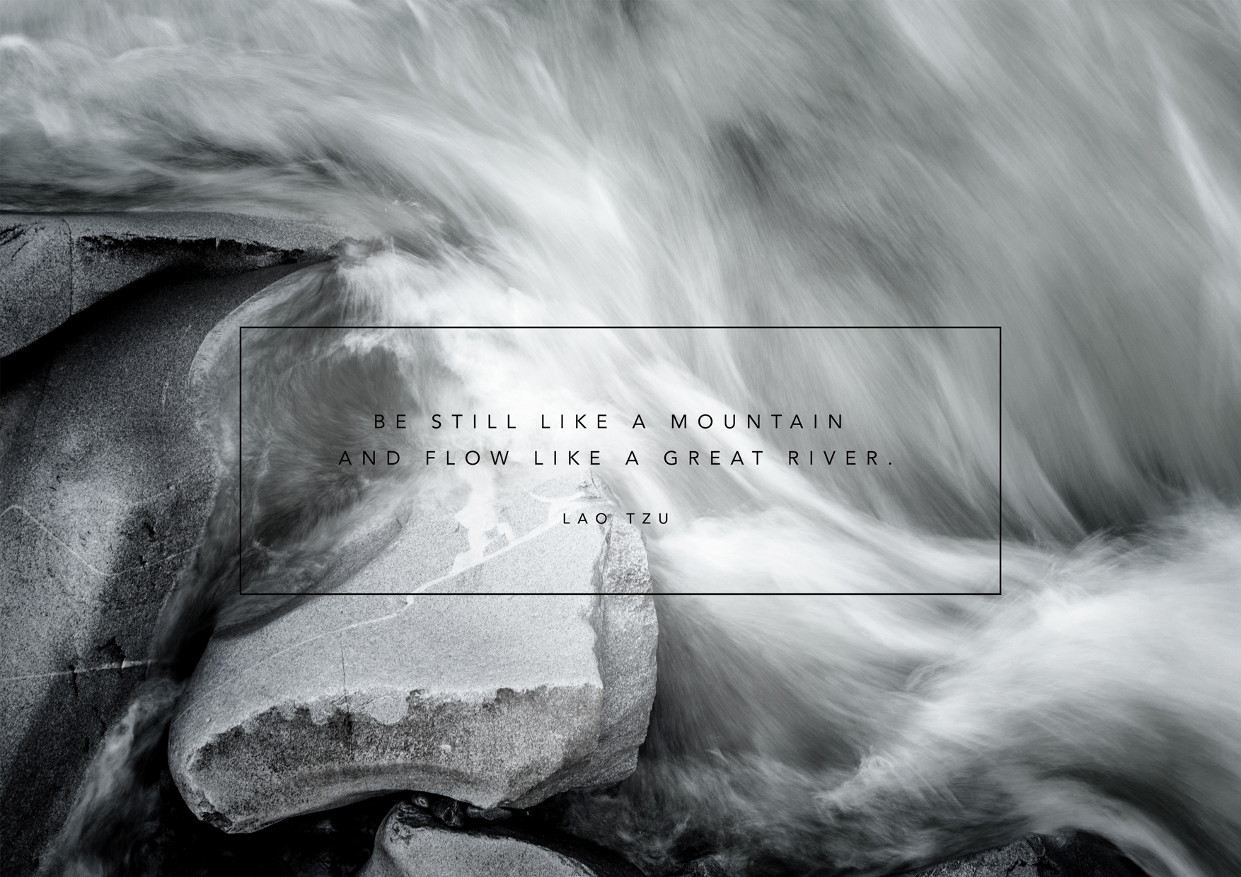 Be Still by Lao Tzu | Design by Stephanie Mill | www.stephaniemill.com