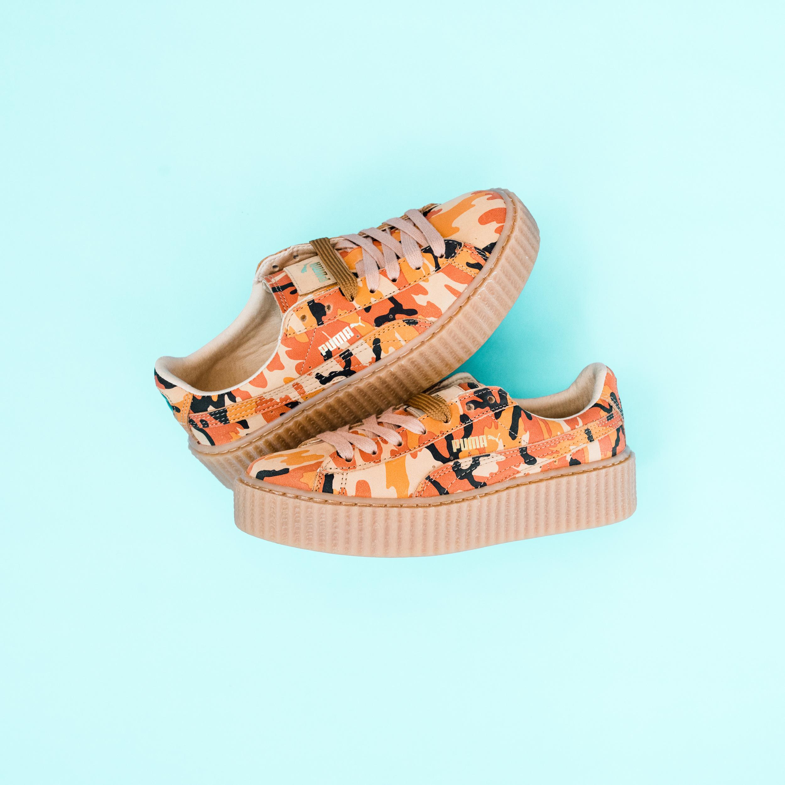 new style ab506 613d3 Now Available: Puma FENTY Creeper by Rihanna