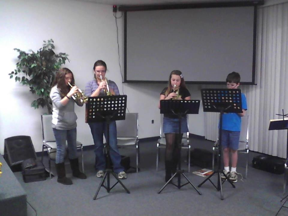 Cornet Class at Conway