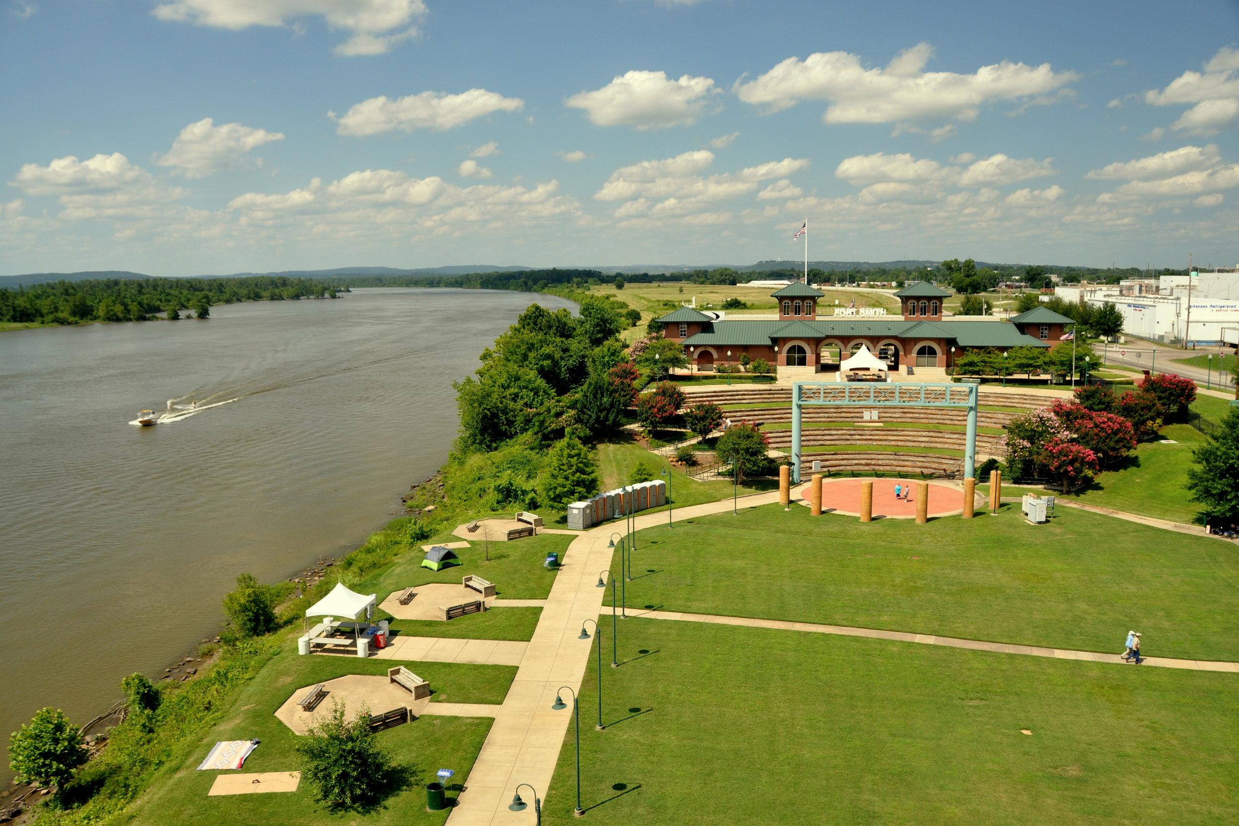 Riverfront Park - Fort Smith, AR