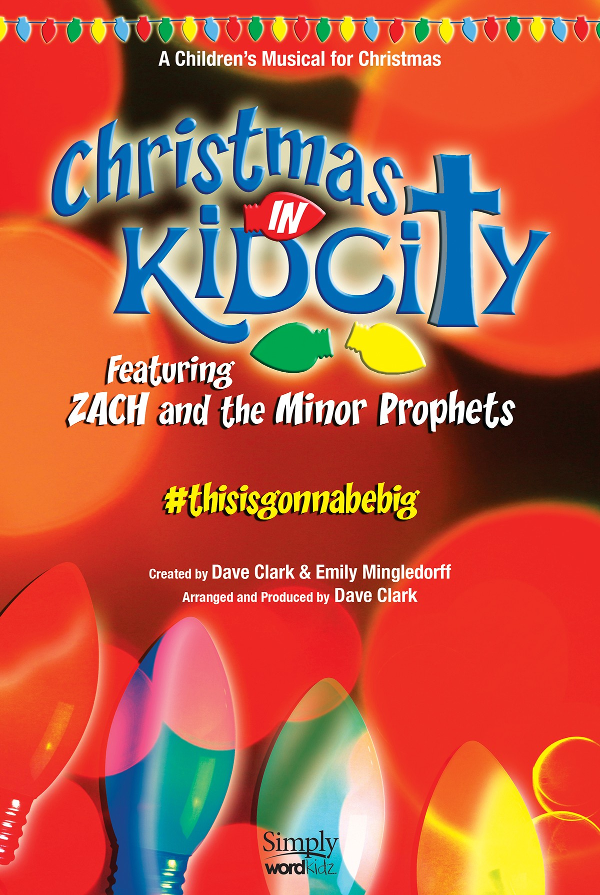 """Created by Dave Clark and Emily Mingledorff, the action all takes place within a church's kids ministry room, dubbed """"KidCity."""" With the timeline leading up to their annual Christmas celebration, this 26-minute musical for kids choir is nonstop fun, chock-full of cleverly written songs (the kids will walk away knowing the major and minor prophets!), all supported by an effortlessly effective, heartwarming script."""