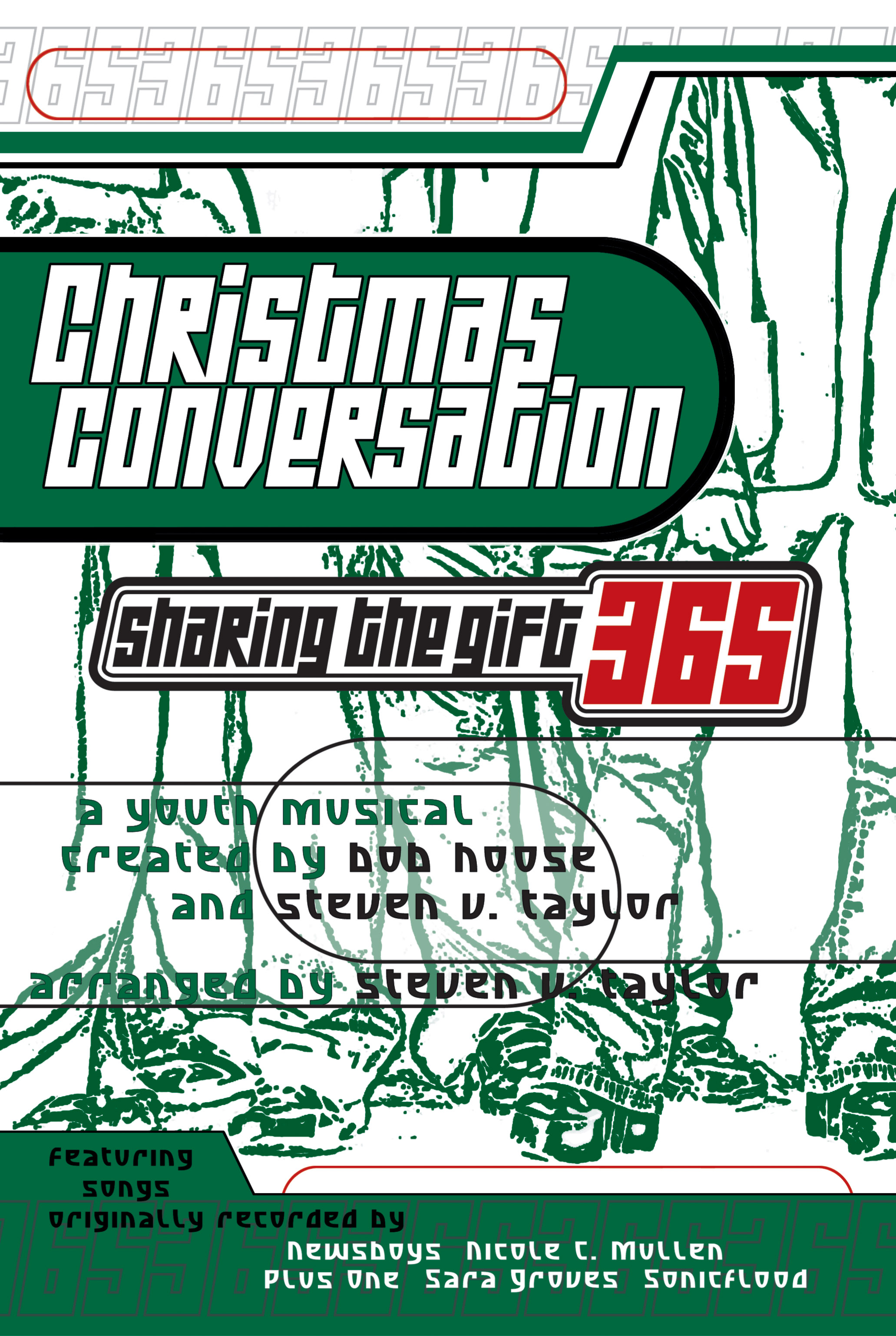 """Christmas Conversation  offers a collection of short, easily rehearsed scenes, intertwined with sparkling new Steven V. arrangements that ask the question: """"What does Christmas mean to you?""""presents a variety of challenging perspectives about Christmas along with contemporary songs originally recorded by the Newsboys, Nicole C. Mullen, Plus One, Sonicflood and Anointed, and is an excellent outreach presentation for secular audiences as well as your church. Youth and adults alike will appreciate and identify with the drama messages, and will be challenged to explore Christmas in a different light."""