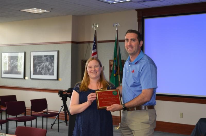 Rachel Sullivan was thanked for her leadership as chairman of the      WAEF Board of Directors