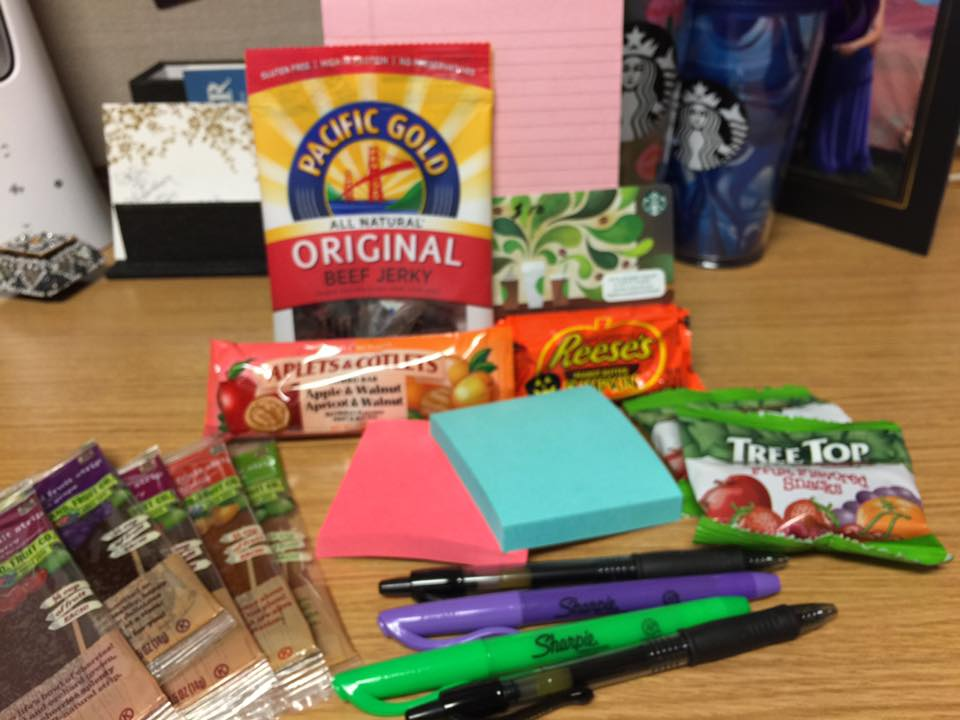 """""""I received my care package on Monday! Thank you so much, it was a perfect welcome back after a weekend at home ."""""""