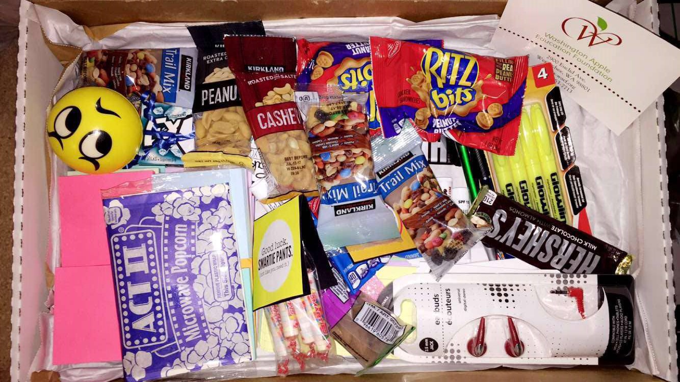 """""""I got my care package today. Beyond grateful """""""