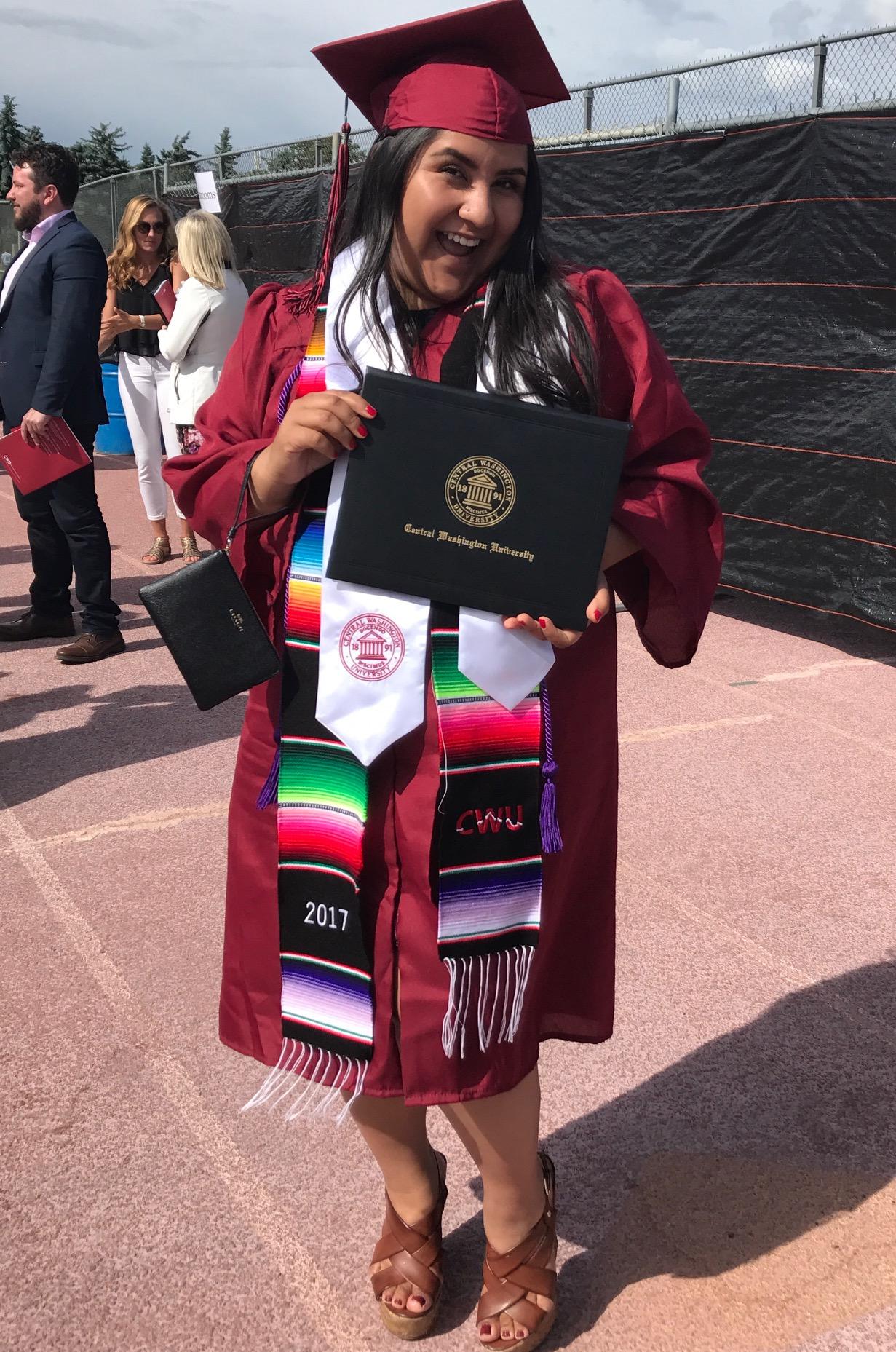 Madai Martinez, Central Washinton University
