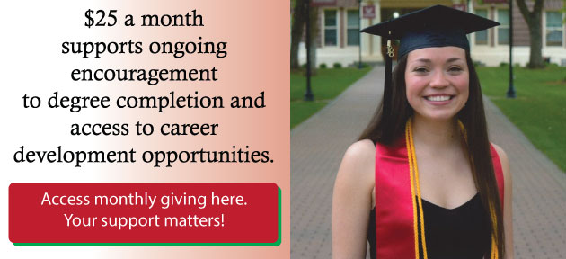 Pictured: Shelby Dietrich, WAEF Scholarship Recipient 2014-2018,  Eastern Washington University, Graduate, Summa Cum Laude