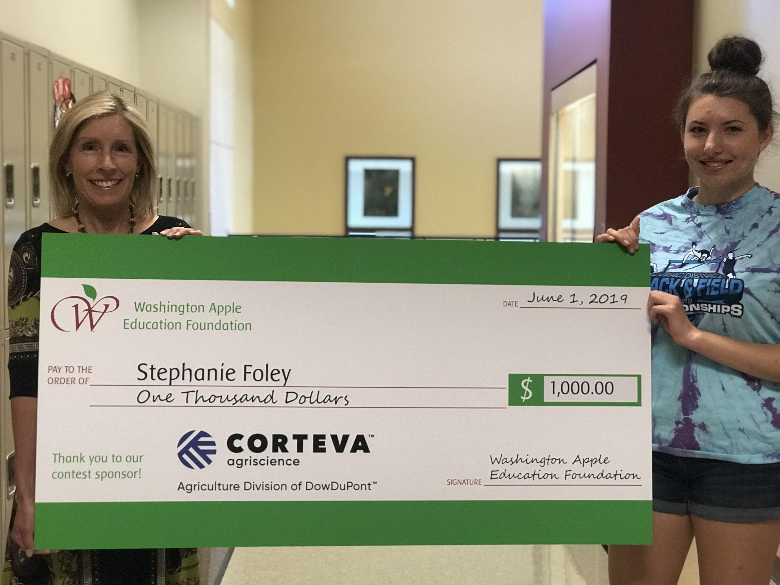 Grand Prize Winner Stephanie Foley