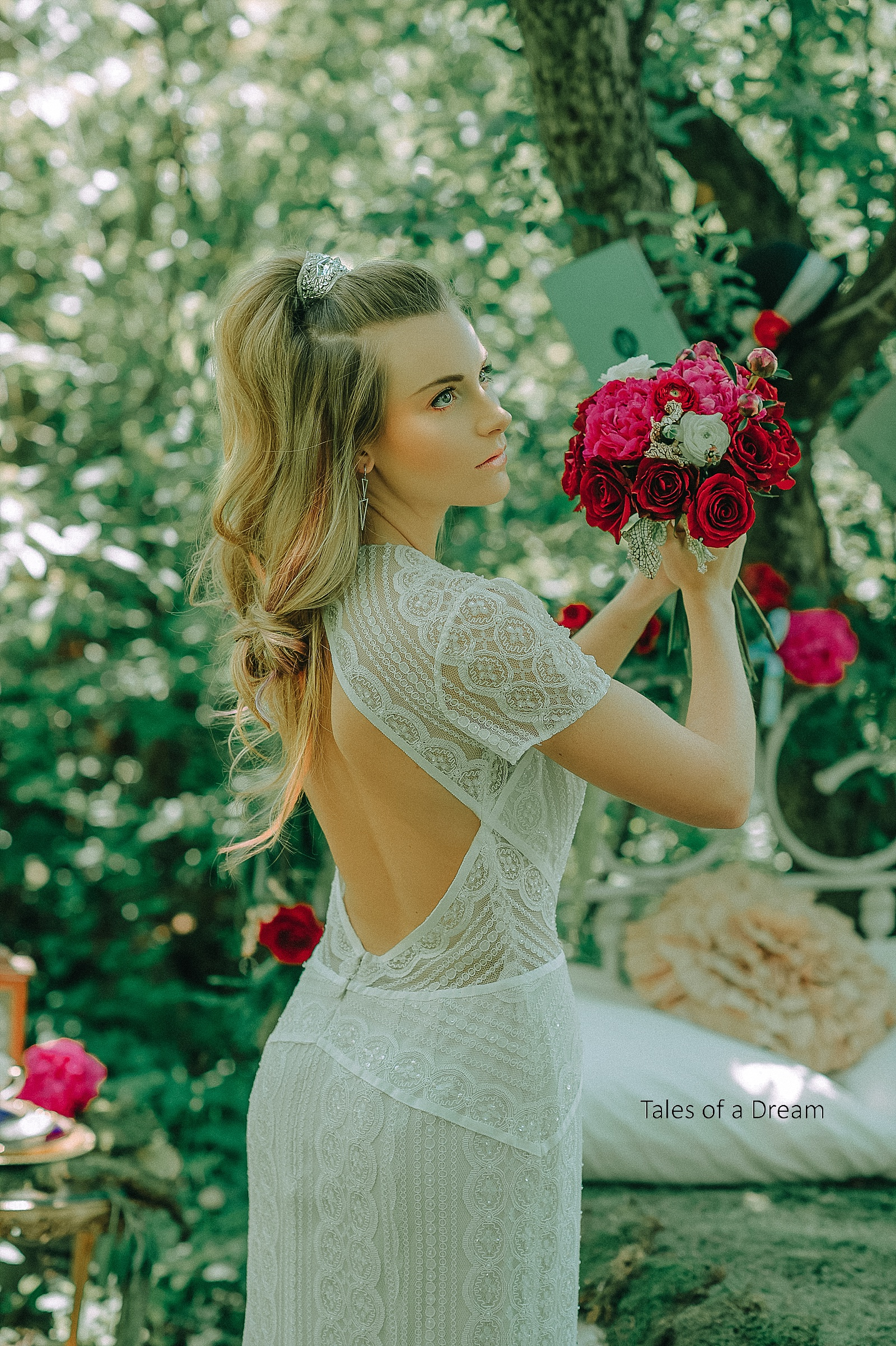 What would Alice look likeif she got married? -
