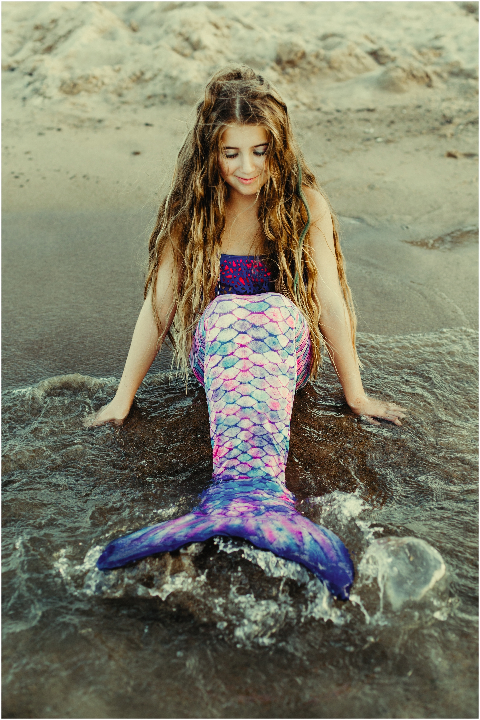Mermaid Hair Don't Care -